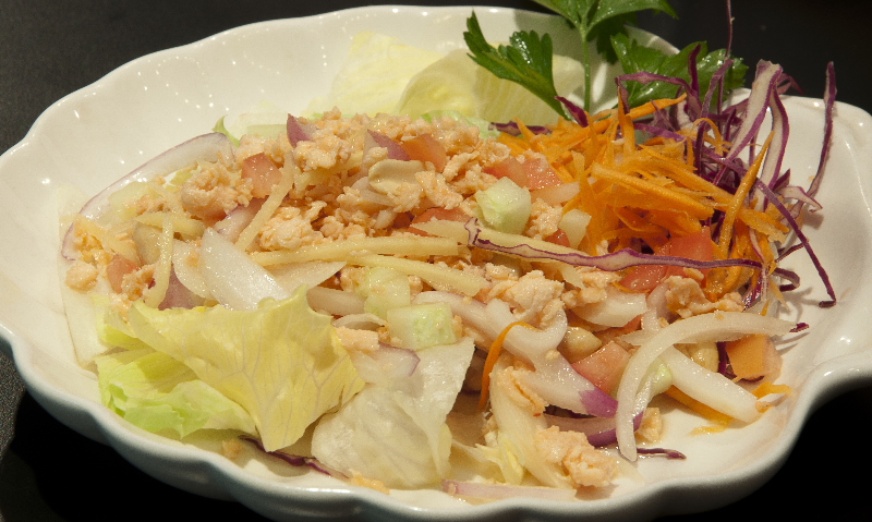 Salmon Thai Salad