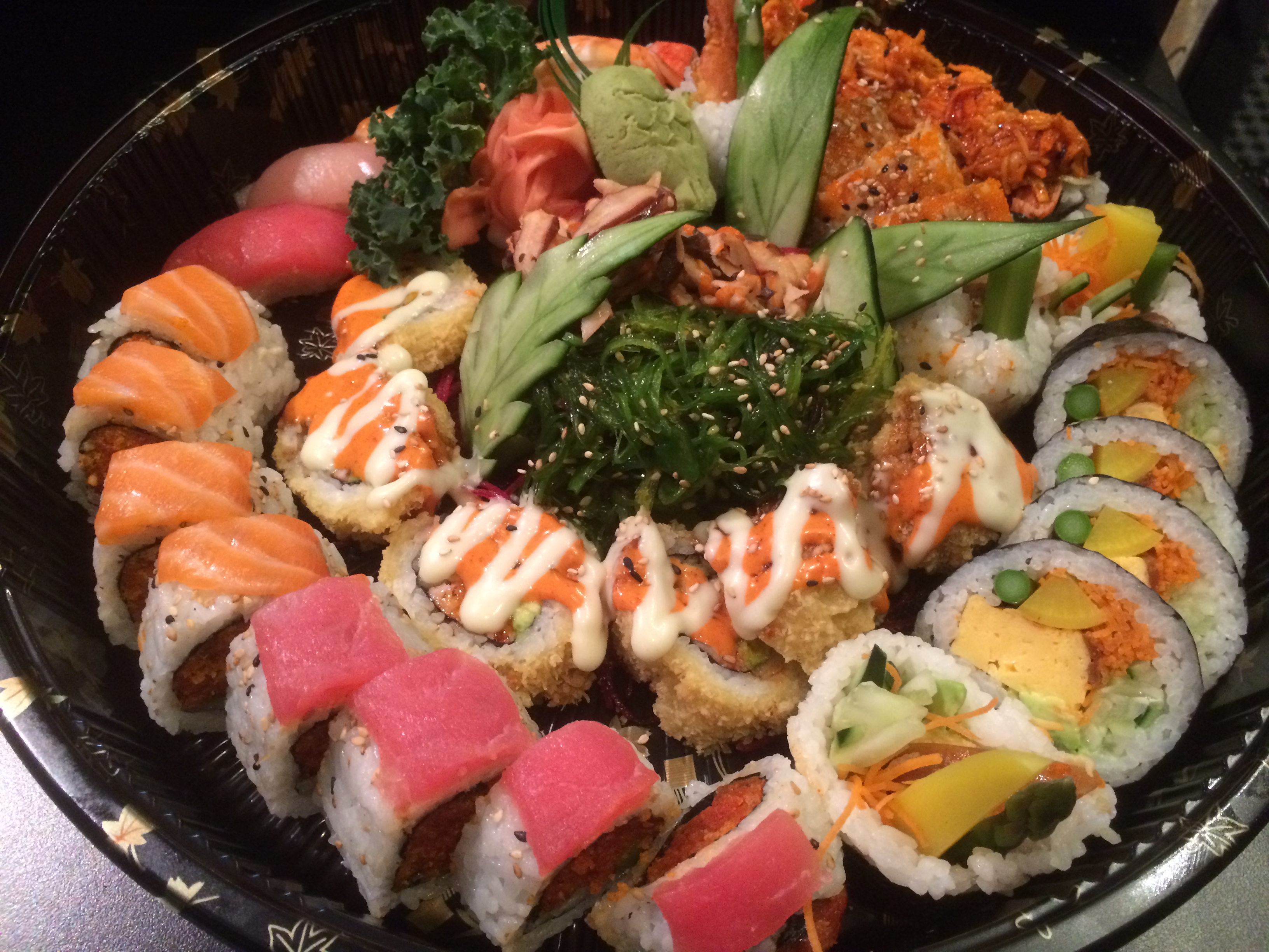 Sushi Thai Sampler for 2